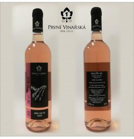 Zweigeltrebe rosé 2018, moravské zemské víno